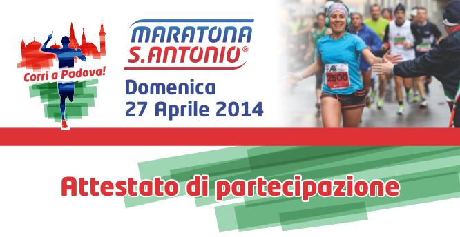 Maratona di S. Antonio 2014