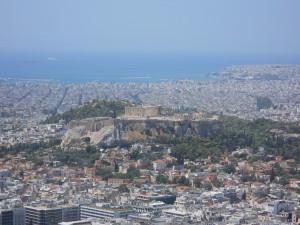 Licabetto vista su Atene