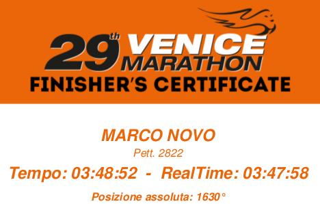 venezia maratona